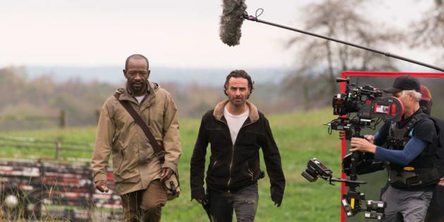 """Le tournage de """"The Walking Dead"""" saison 8 suspendu après le grave accident d'une doublure"""