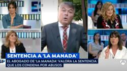 La bronca monumental entre Mabel Lozano y el abogado de 'La Manada':