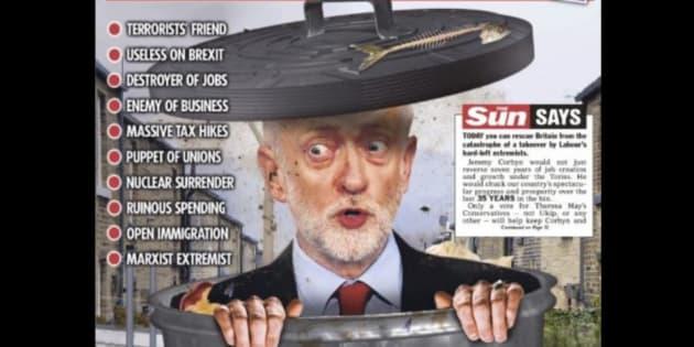"""Législatives en Grande-Bretagne: """"The Sun"""" n'aurait pas dû faire de jeu de mots au détriment de Jeremy Corbyn"""