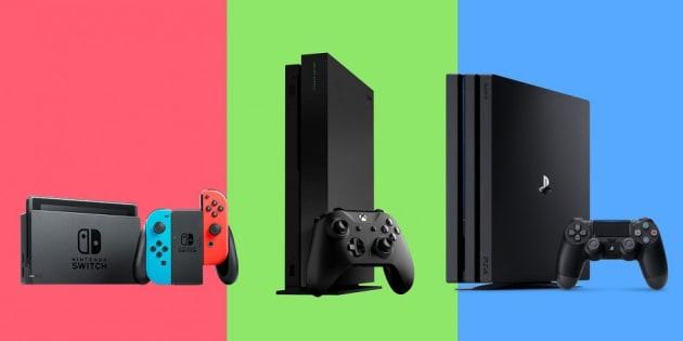 Sony PS4, Microsoft Xbox ou Nintendo Switch, quelle console choisir ?