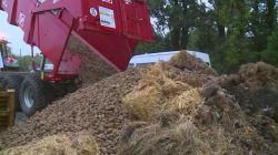 Les images d'agriculteurs bloquant un site de production de Total dans les