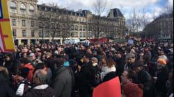 Pendant le rassemblement de Fillon au Trocadéro, concert de casseroles à
