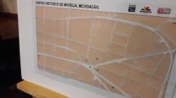 Invidentes y débiles visuales pasearán por Morelia gracias a estos mapas en