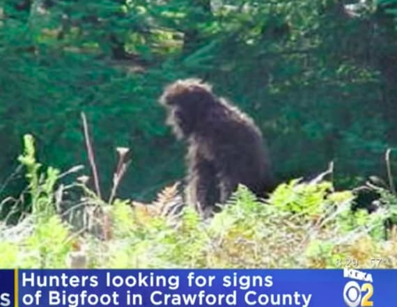 Hunt for a bonafide Bigfoot begins in Pennsylvania