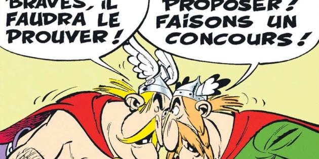 France-Belgique à la Coupe du monde 2018: Cette case d'Asterix a inspiré les internautes et le JDD.