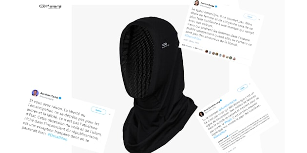 Polémique sur le hijab vendu par Decathlon  des députés LREM s écharpent. 25054a35a90