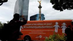 El #AutobúsDelSarcasmo, tuiteros alteran mensaje del