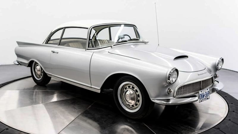 UPDATE: Rare 1960 Auto Union 1000 Sp Coupe sells at auction
