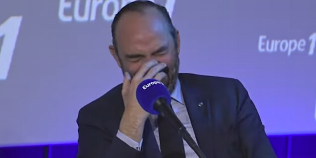 Édouard Philippe a beaucoup ri lors de la chronique matinale de Nicolas Canteloup sur Europe 1, ce vendredi 15 mars.
