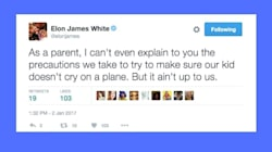 Dad Nails The Problem With Complaining About Parents Who Fly With