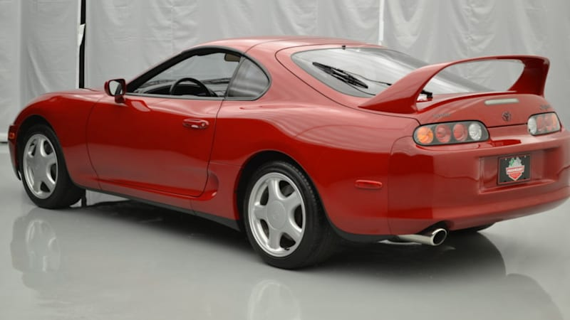 1994 Toyota Supra Up For Online Auction Has Only 7 111 Miles Autoblog