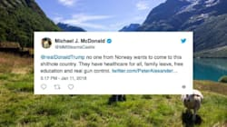 People On Twitter Tell Trump No One In Norway Wants To Come To His 'Sh*thole