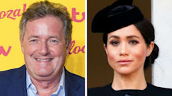 Piers Morgan Mocks Meghan Markle For Writing 'Patronising' Messages On