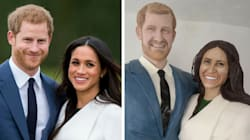 Feast Your Eyes On This Life-Size Prince Harry And Meghan Markle