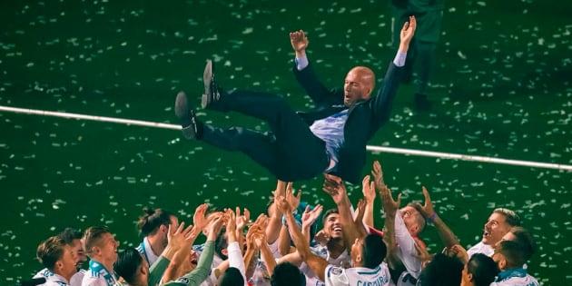 Sur les réseaux sociaux, les joueurs du Real Madrid ont rendu hommage à leur ancien entraîneur Zinédine Zidane.