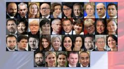 Les 17 ministres, 5 ministres délégués et 12 secrétaires d'État du nouveau gouvernement