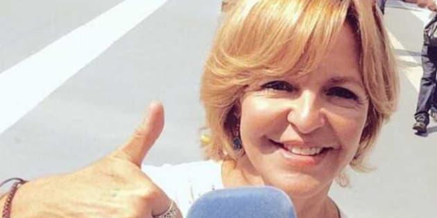 Imagen de archivo de la periodista de TVE, Almudena Ariza.