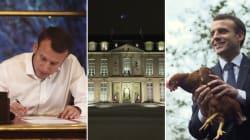 Un an de Macron et de communication: comment le président a construit son image en