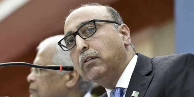 Pakistan High Commissioner Abdul Basit that Pakistan did not want to live in perpetual hospitality.