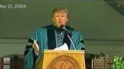 Sí, hubo un momento en el que Donald Trump llamaba a atravesar