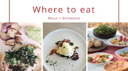 Restaurants To Try When Travelling In