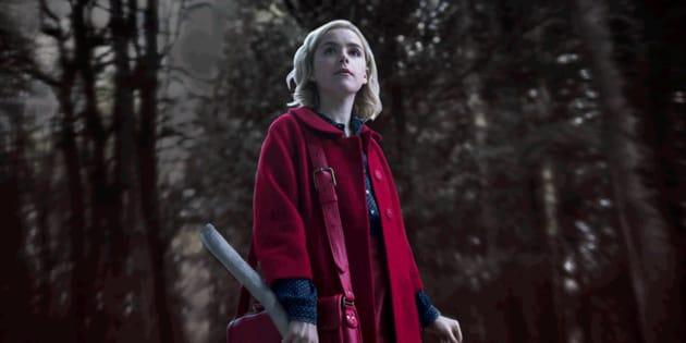 Le repaire de la nouvelle Sabrina Spellman de Netflix nous en apprend beaucoup sur la série.