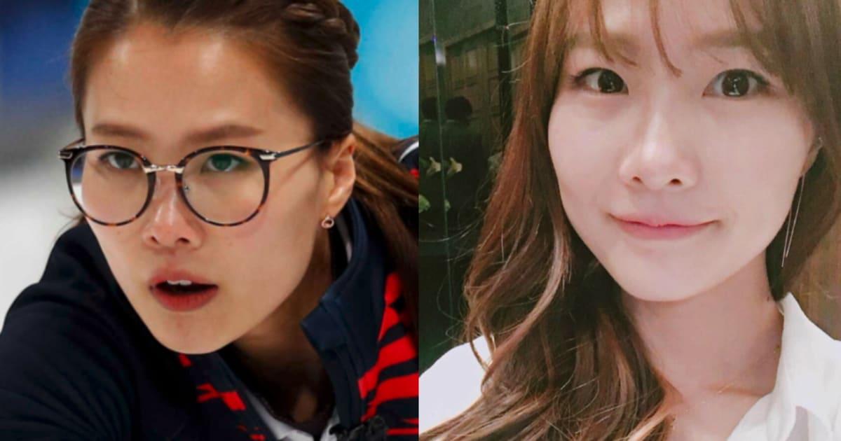「メガネ先輩」がメガネを外した姿に衝撃が走る(平昌オリンピック・カーリング女子韓国)