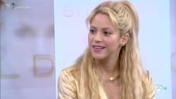 La tensión de Shakira al hablar de Piqué en un programa