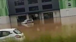 Les images de la clinique évacuée en Moselle après les