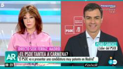 Sánchez recuerda que el candidato por Madrid ha de consensuarse con