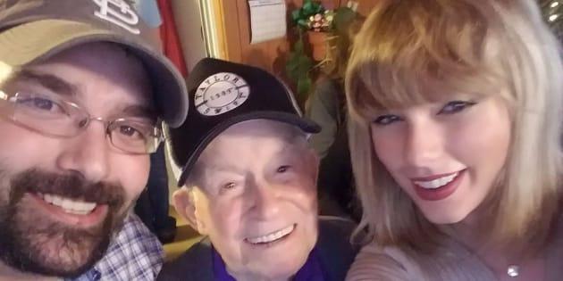 Taylor Swift a fait le plus beaux des cadeaux de Noël à ce papi de 96 ans