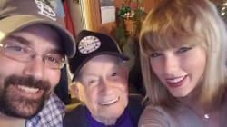 Taylor Swift a fait le plus beau des cadeaux de Noël à ce papy de 96