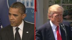 Si Trump a repris une expression de 2012 d'Obama sur la Syrie, c'est pour mieux