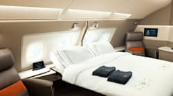 Dormir dans l'avion comme à l'hôtel, c'est