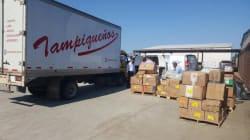 Su sueño de auxiliar a Oaxaca se convirtió en 52 toneladas de