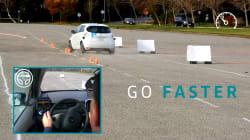 La voiture autonome de Renault évite les obstacles aussi bien qu'un pilote