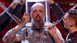 WATCH: Eek! 'Britain's Got Talent': Escape Artist Stunt Goes Terrifyingly