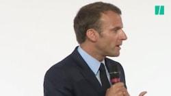 En huit ans, le discours de Macron sur les