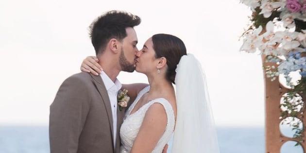 """Billy Crawford et Coleen Garcia se sont dit """"oui"""" dans le très privé Balesin Island Club, dans la province de Quezon, aux Philippines."""