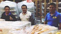 Los mexicanos que hicieron cientos de panes para las víctimas de
