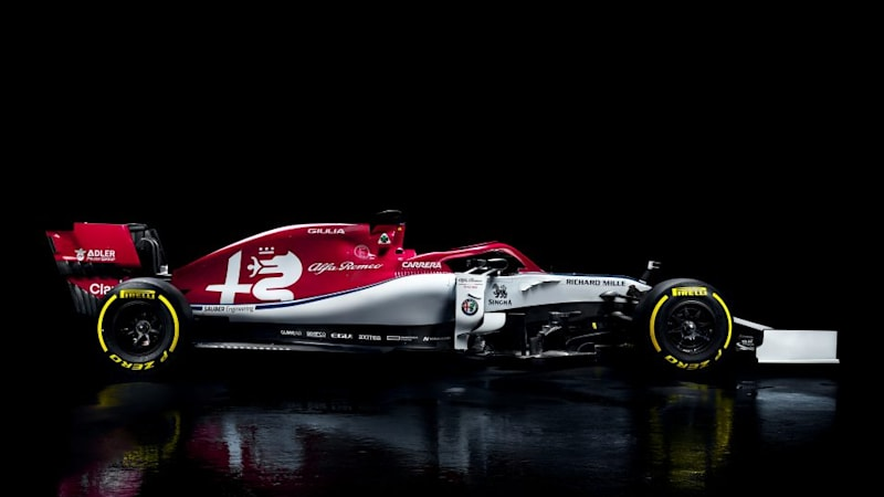 Alfa Romeo F1 team reveals its 2019 car | Autoblog