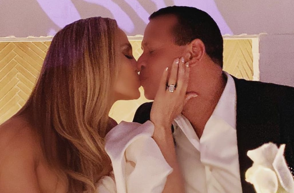 Jennifer Lopez and Alex Rodriguez celebrate engagement party with their kids: Pics!