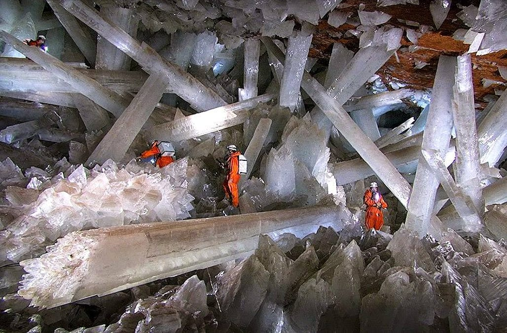 Mexico's cave of giant crystals is ethereal as all get out