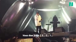 Jay-Z fait chanter la foule pour l'anniversaire de