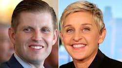 Eric Trump Tweets Bizarre Conspiracy Theory About Ellen