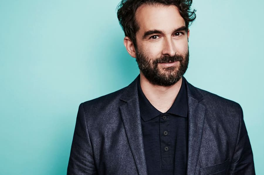 BEVERLY HILLS, CA - AUGUST 7: Jay Duplass from Amazon's 'Transparent' poses for a portrait at the 2016 Summer TCAs Getty Images Portrait Studio at the Beverly Hilton Hotel on July 27th, 2016 in Beverly Hills, California (Photo by Maarten de Boer/Getty Images)