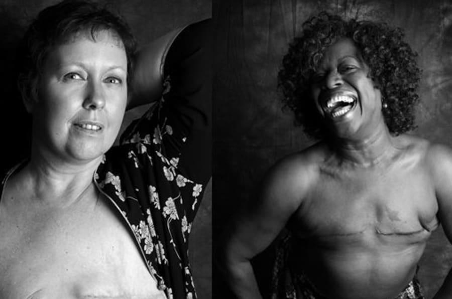 Debbie, de Droitwich Spa, Worcesteshire, uma das mulheres fotografadas para o projeto.