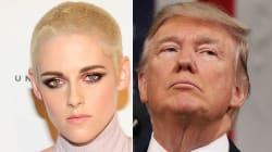 Stephen Colbert: Trump Tweets More To Attack Kristen Stewart Than Condemn