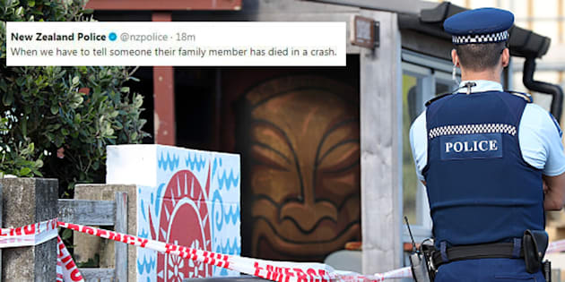 New Zealand police sorry for tweeting joke on road deaths
