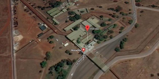 The State Security Agency's Musanda complex outside Pretoria.